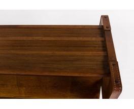 Table basse en chene Jacques Adnet 1930