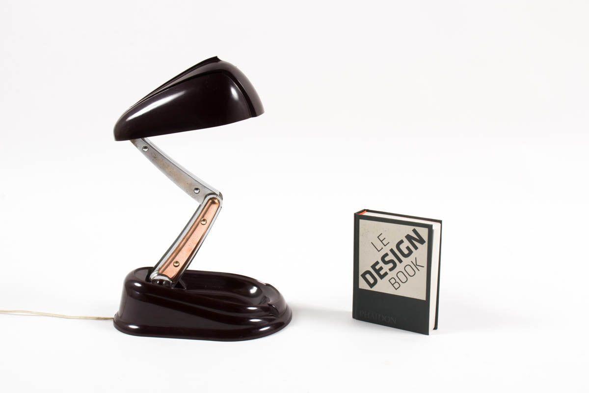 Lampe de bureau Lucidus Bloc modèle Bolide edition Jumo 1945