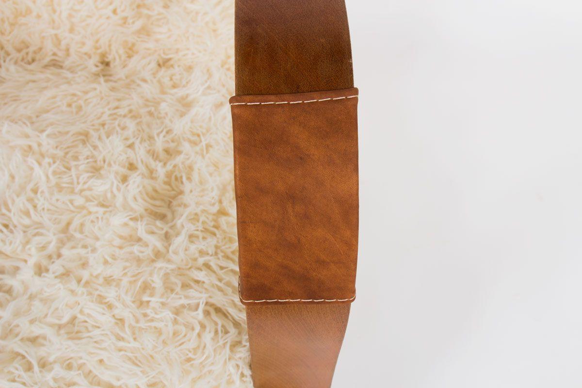 Fauteuils Art Deco en acajou et tissu imitation agneau de Mongolie 1930 set de 2