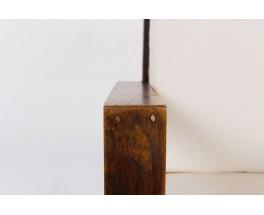 Fauteuils Rene Gabriel tissu beige chine 1950 set de 2