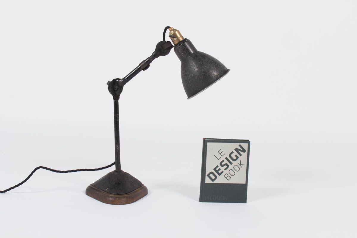 Lampe de bureau modele 207 Bernard Albin Gras edition Ravel Clamart 1921