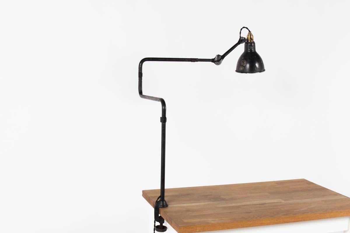 Lampe d'architecte modele 211 Bernard Albin Gras edition Ravel Clamart 1921