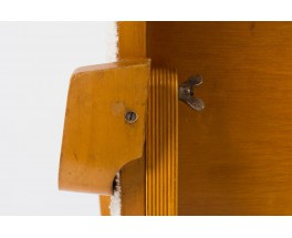 Fauteuil Cees Braakman modele FB03 serie Combex tissu Bergamo Bisson Bruneel edition Ums Pastoe 1950