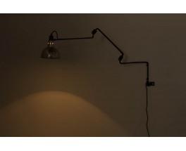 Applique Georges Houillon modele 3 bras noir 1930