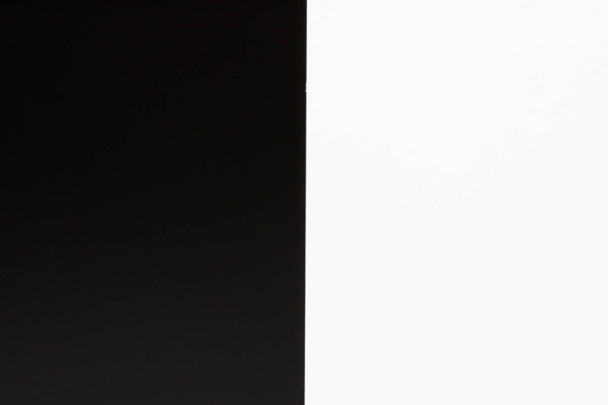 Chevets Andre Sornay hetre et laque noir et blanche 1950 set de 2