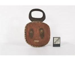 Masque decoratif ethnique de Cote d'Ivoire 1950