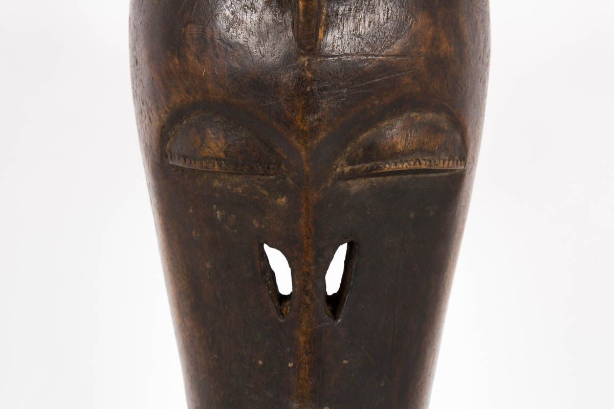 Masque decoratif ethnique modele antilope du Burkina Faso 1950
