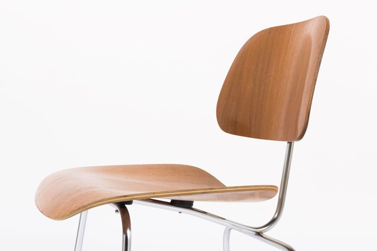 Chaises Charles et Ray Eames modele DCM edition Herman Miller 1960 set de 4