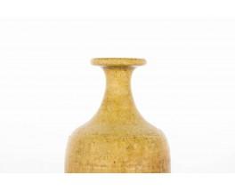 Vases Rudi Stahl Studio en ceramique marron 1950 set de 2