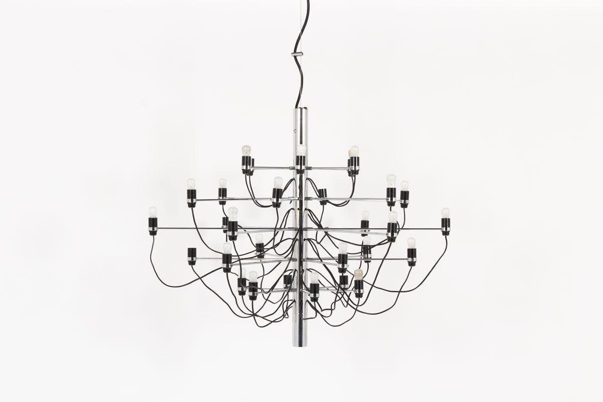 Lustre Gino Sarfatti modele 2097/30 edition Arteluce 1970