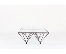 Table basse rectangulaire Paolo Piva modele Alanda edition BB Italia 1970