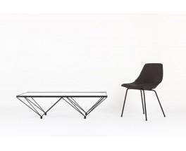 Table basse rectangulaire Paolo Piva modele Alanda edition BB Italia 1970