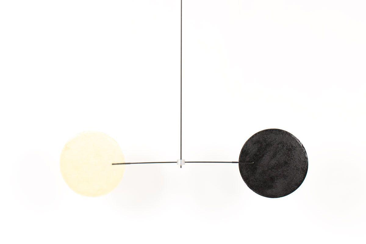 Mobile modele Mobilyom 2 couleurs 1 axe par Guillaume Guinet