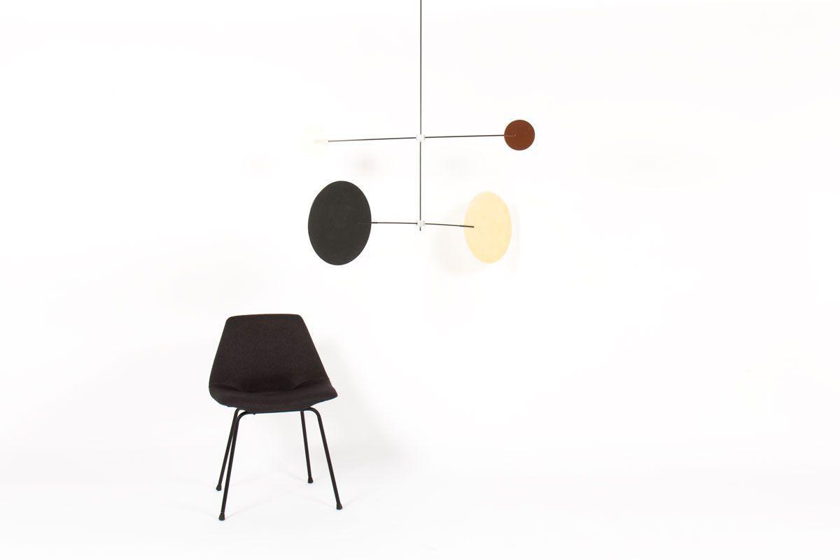 Mobile modele Mobilyom 4 couleurs 2 axes par Guillaume Guinet