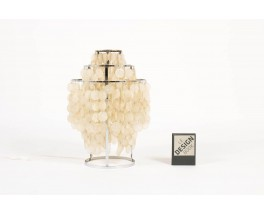Lampe a poser Verner Panton modele Fun a pampilles de nacre 1960