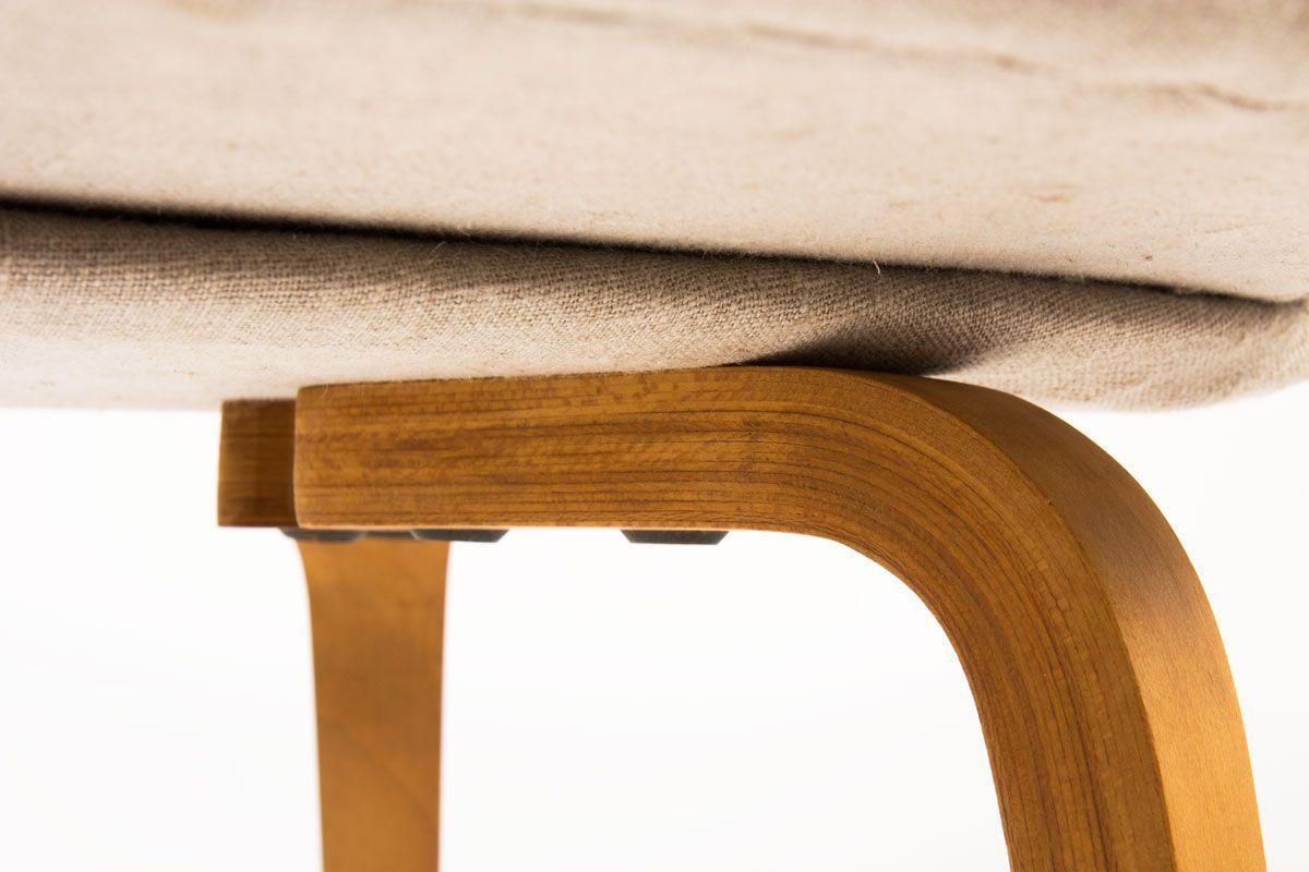 Chaises Eero Saarinen modele Executive lin beige edition Knoll International 1950 set de 2