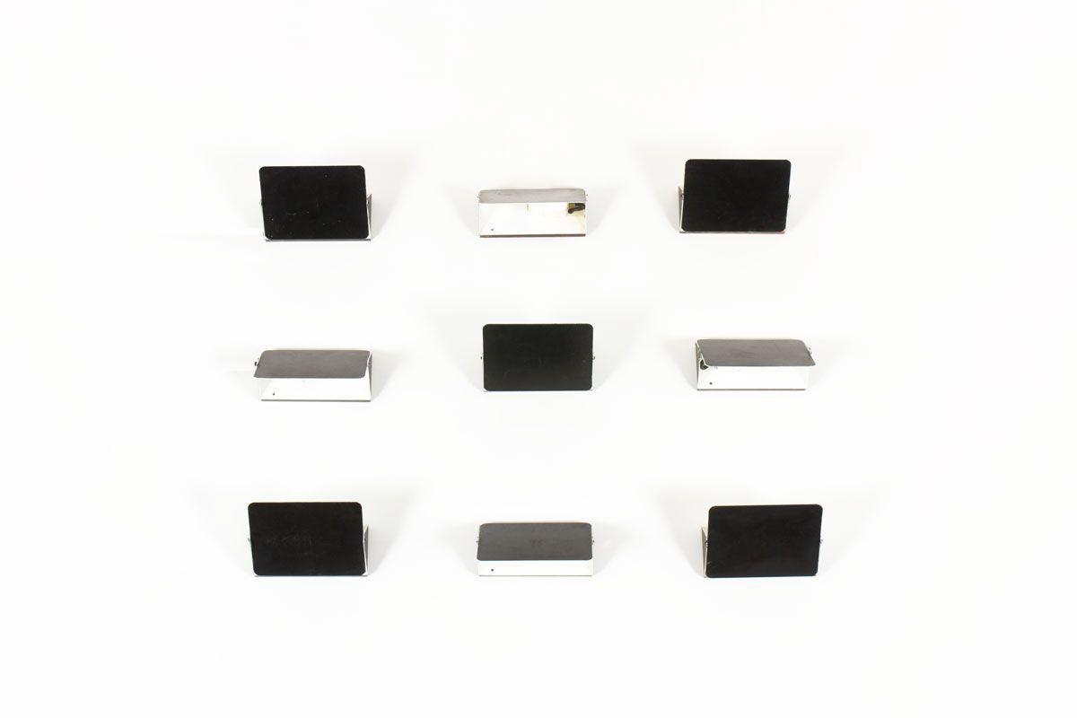 Applique Charlotte Perriand modele CP1 noir edition Steph Simon 1960