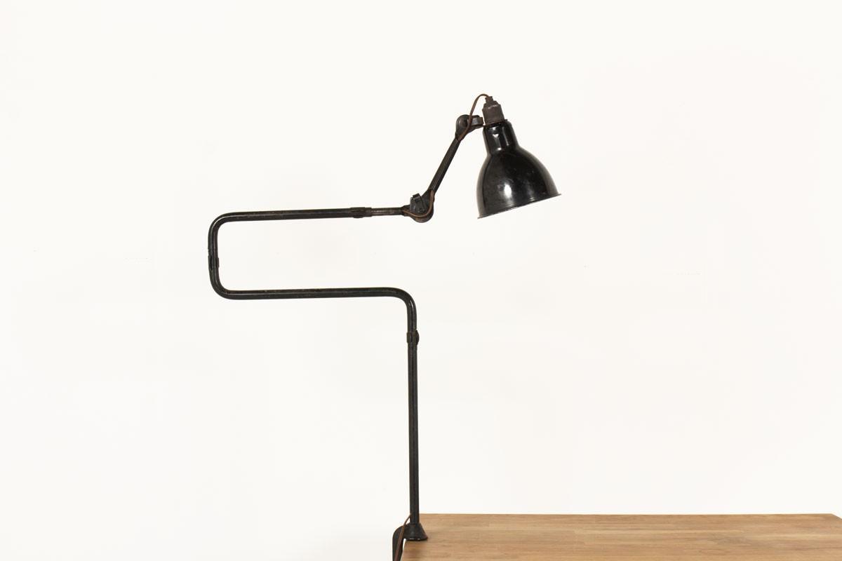 Lampe d'architecte modèle 211 Bernard Albin Gras 1921
