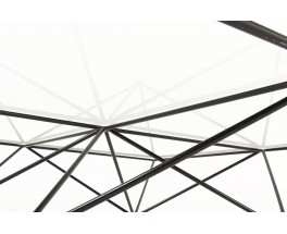 Table basse carrée Paolo Piva modèle Alanda édition BB Italia 1970