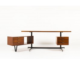 Osvaldo Borsani desk model T95 executive edition Tecno 1950
