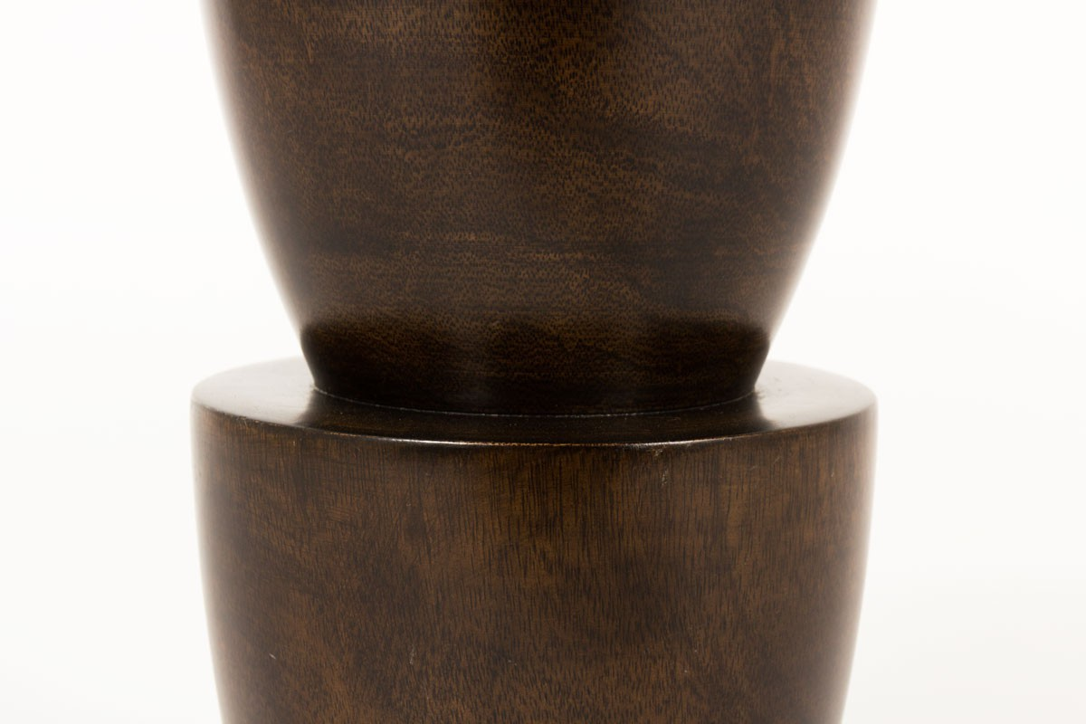 Vase Carine Tontini en palmier collection extrem Origin Paris 1990