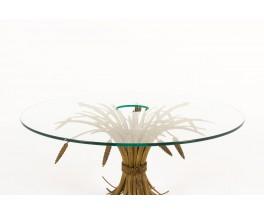 Coffee table model Epi de ble Coco Chanel 1970