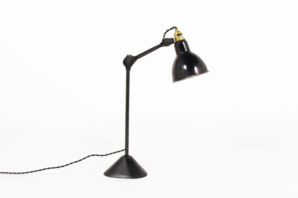 Lampe de bureau Bernard Albin Gras modèle 205 1930