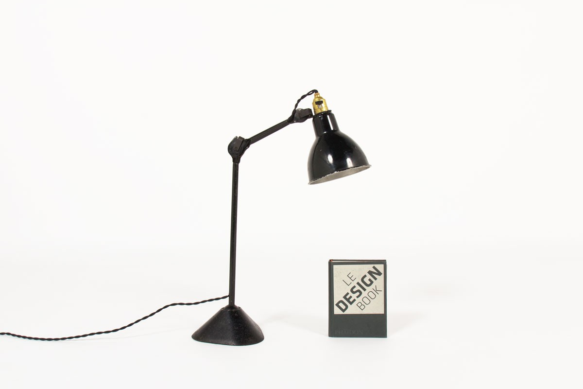 Bernard Albin Gras desk lamp model 205 1930
