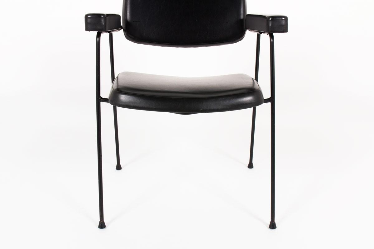 Pierre Paulin armchair model CM197 edition Thonet 1950