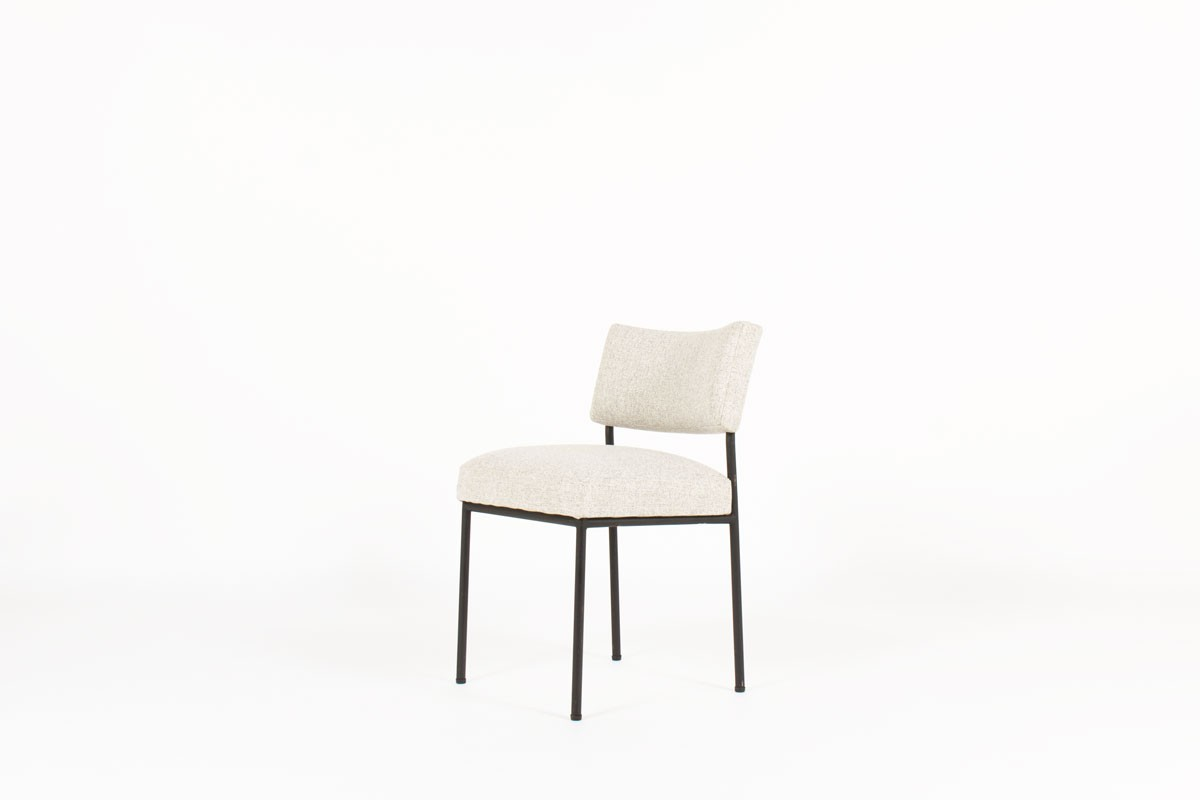 Joseph Andre Motte chairs model 764 edition Steiner 1950 set of 6