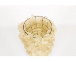 Floor lamp in mother-of-pearls 1970