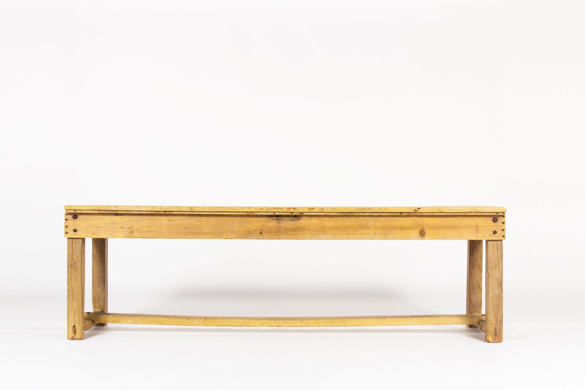 Console table large model in pine 1950
