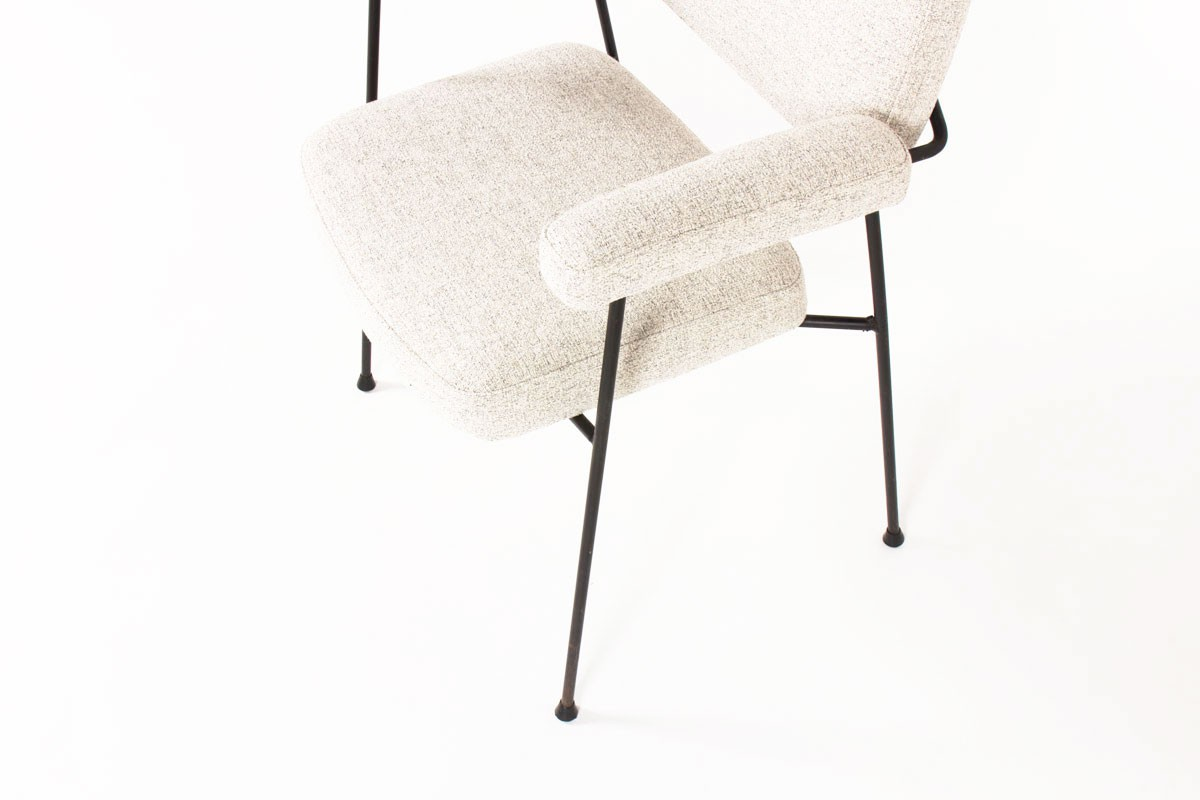 Pierre Paulin armchair model CM197 edition Thonet 1950
