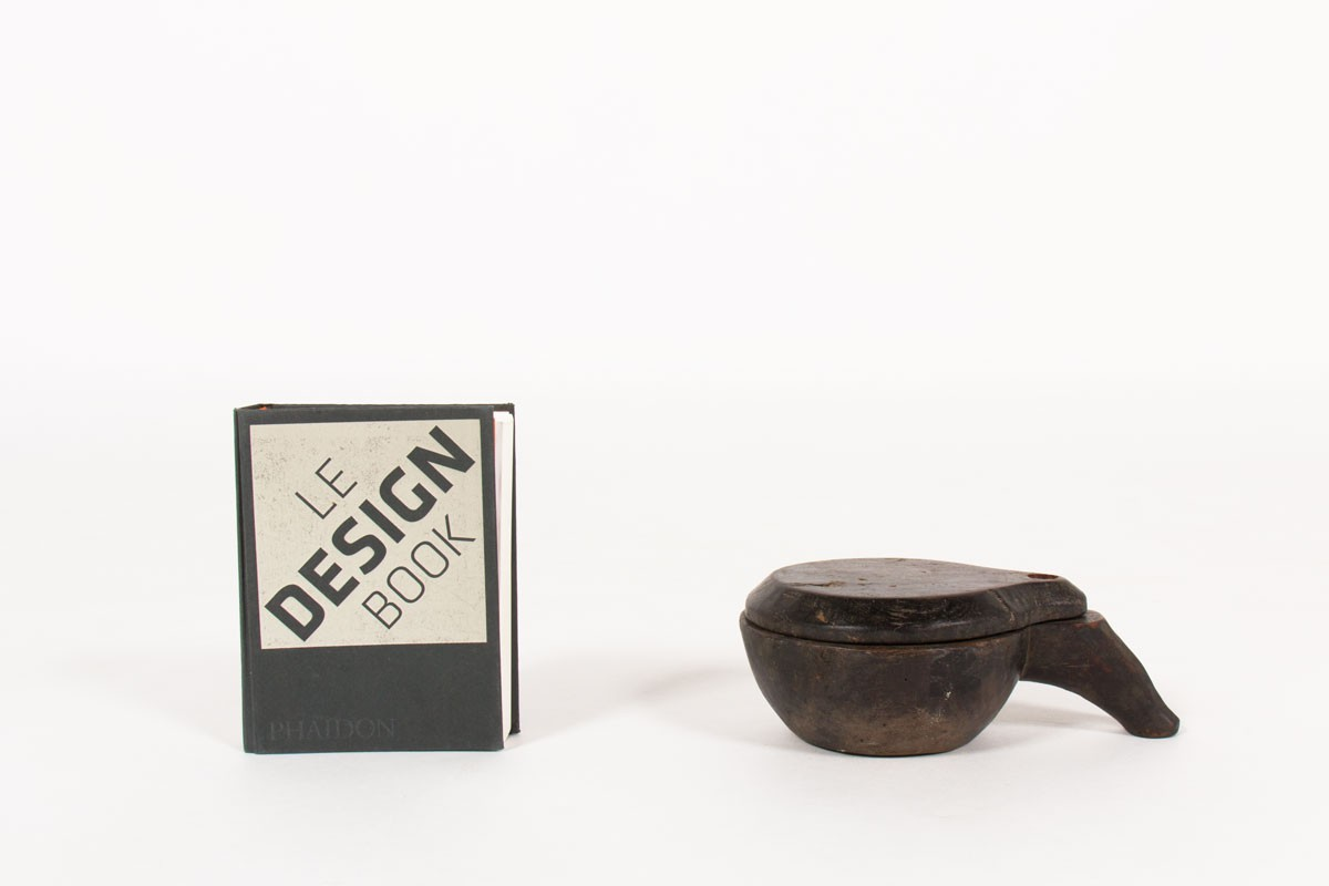 Trinket bowl in ebony 1950