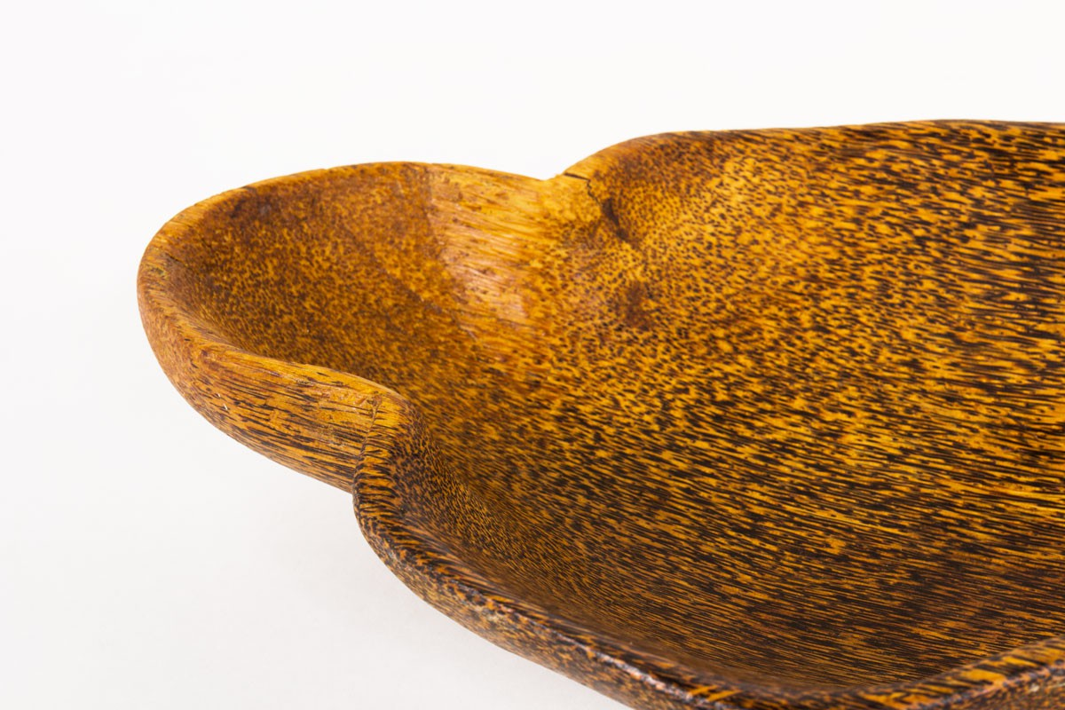 Trinket bowl in coconut tree 1950