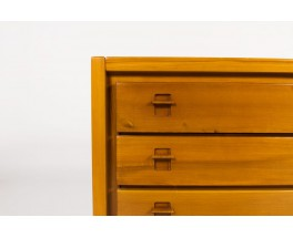 Chest of drawers in elm edition Maison Regain 1980