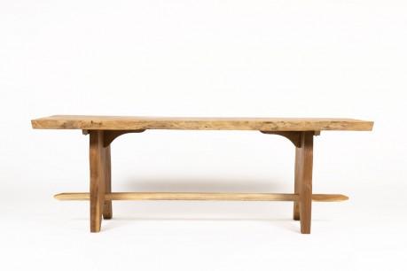 Table de repas en acacia 1950