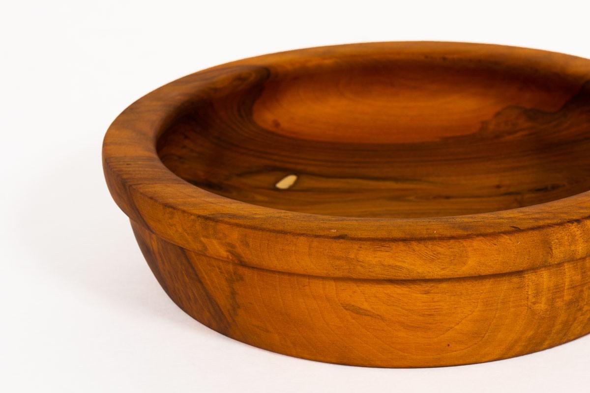 Trinket bowl in walnut 1950