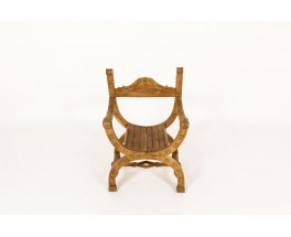 Dagobert armchair in oak 1950