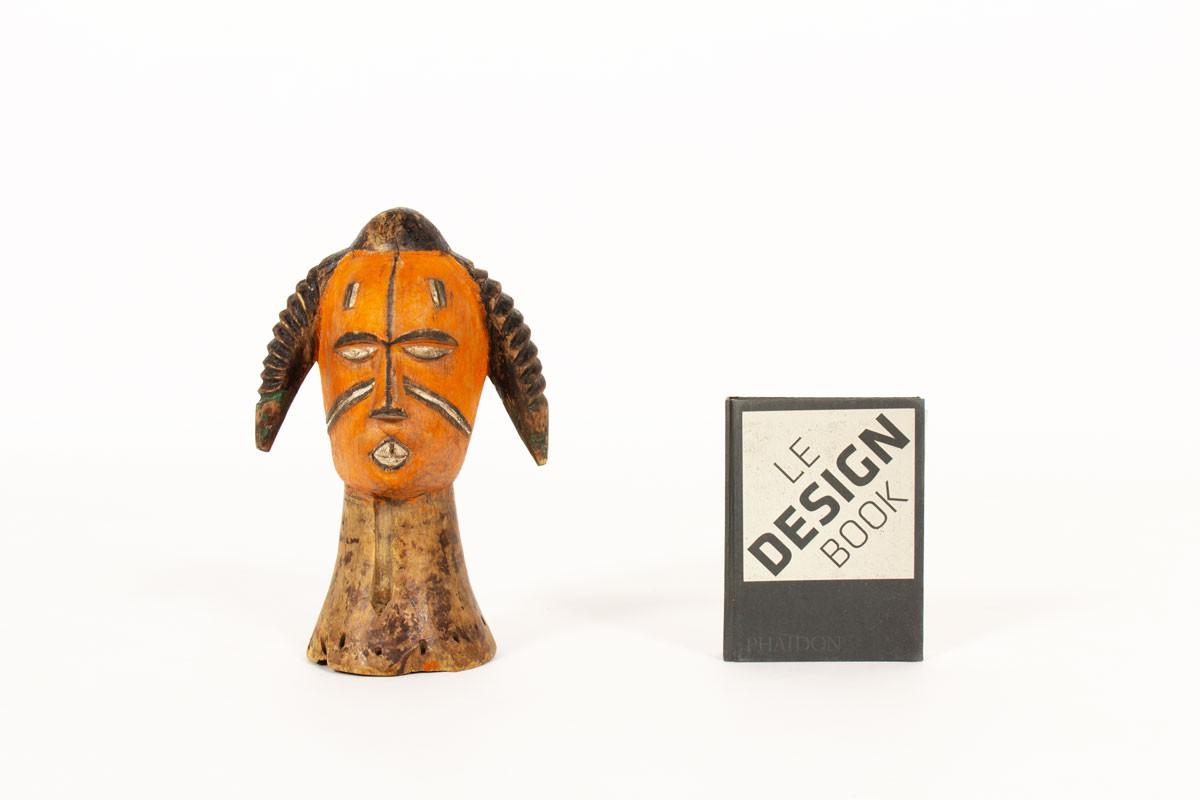 Decorative bust African design