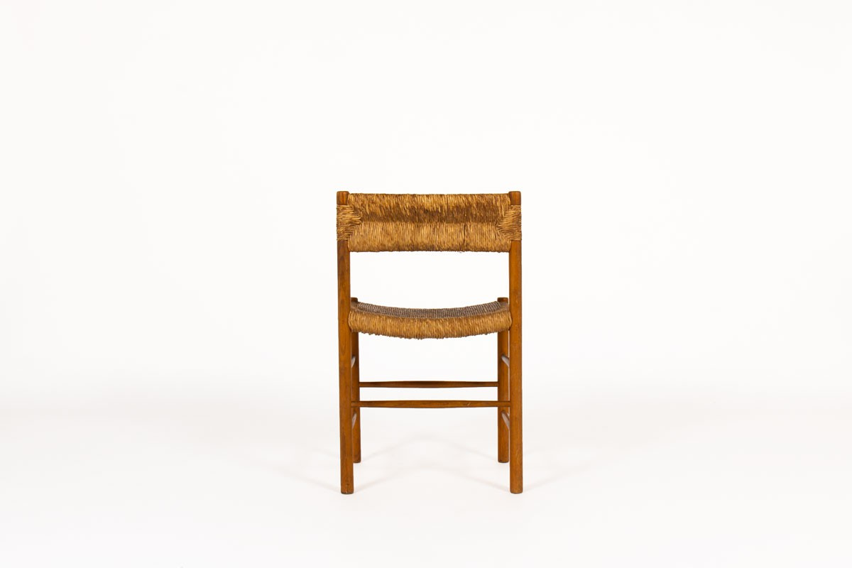 Chairs model Dordogne in ash edition Sentou 1950 set of 6
