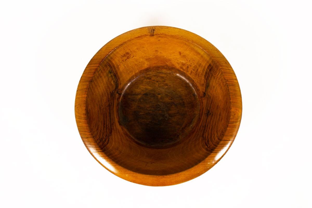 Plat en bois design marocain 1950