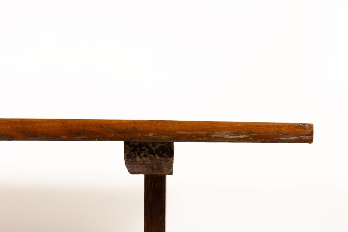 Table de repas rectangulaire bois brésilien 1950