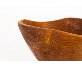 Fruits bowl in rosewood 1950