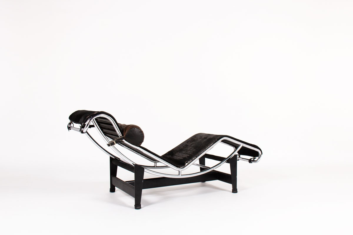 Charlotte Perriand Le Corbusier lounge chair model LC4 first edition Cassina 1965