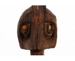 Masque décoratif design africain