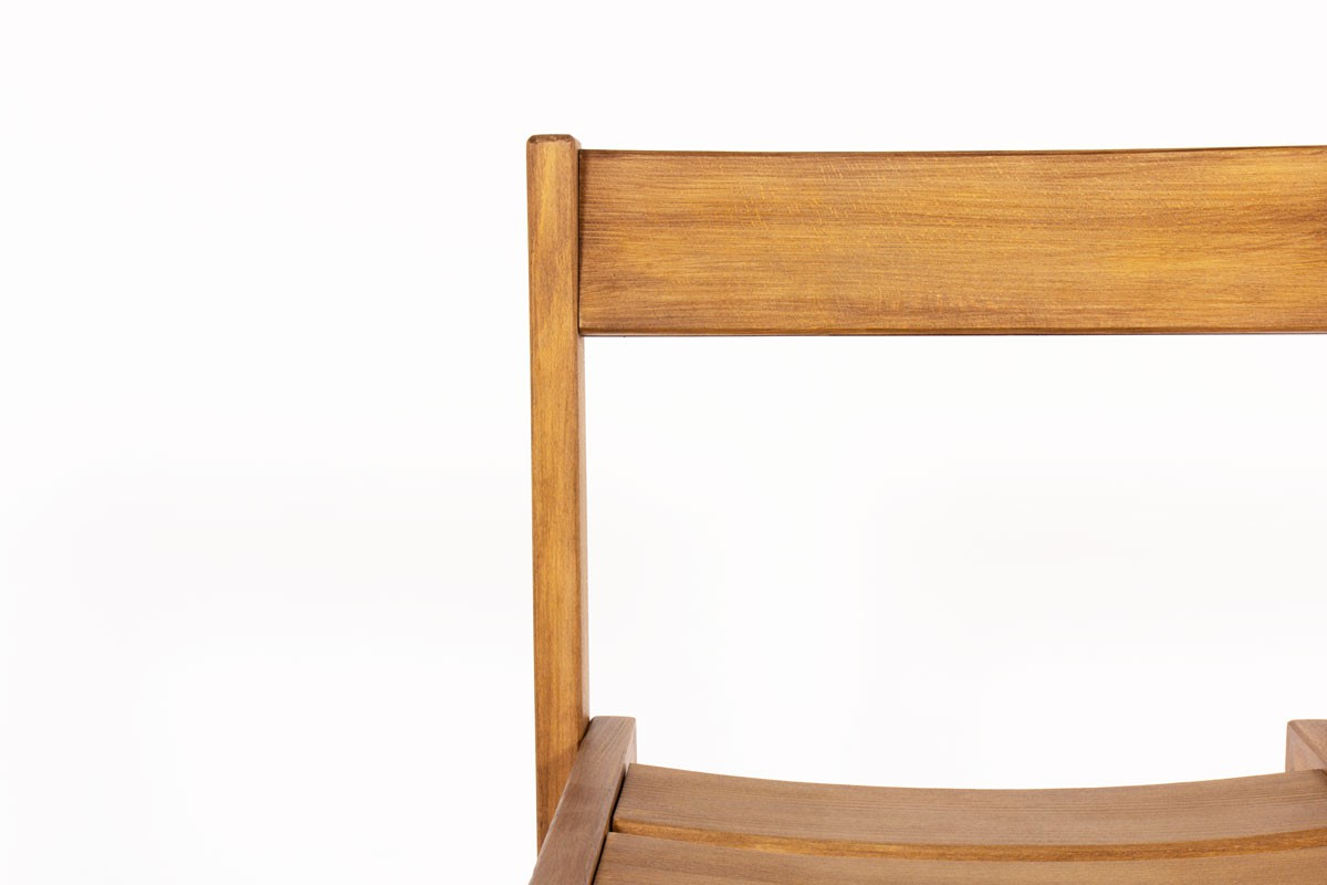 Andre Sornay chairs in tinted beech 1960