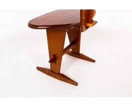Chair in mahogany 1950