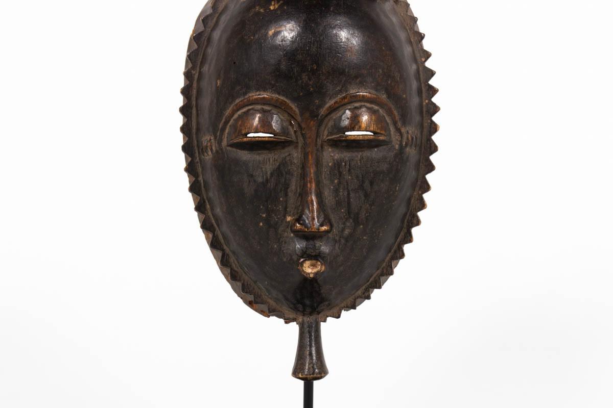 Senoufo African mask primitive ethnic art Ivory coast