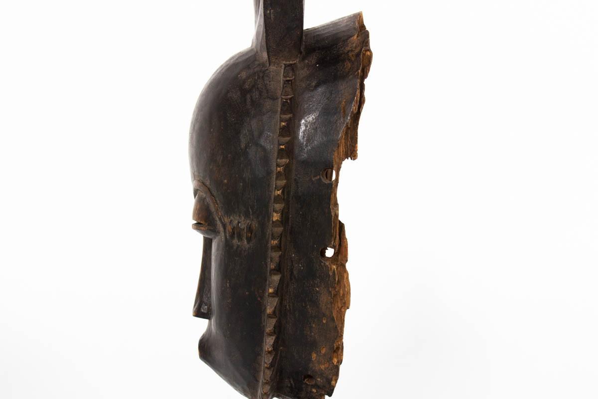 Masque africain senoufo art ethnique primitif Côte d'Ivoire